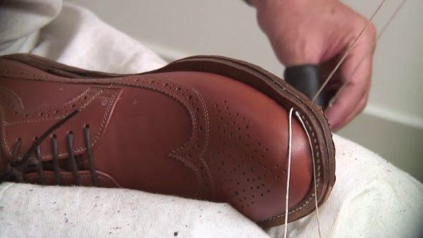 Пошивка обуви вкруговую